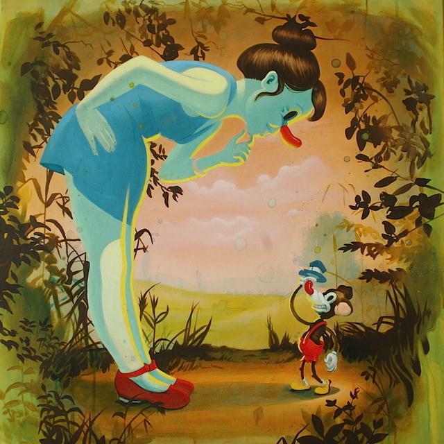 Victor Castillo, 'To drunk to fuck', 2015, Painting, Acrylic on canvas, Isabel Croxatto Galería