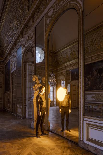 , 'Deep Mirror (Yellow),' 2016, Château de Versailles