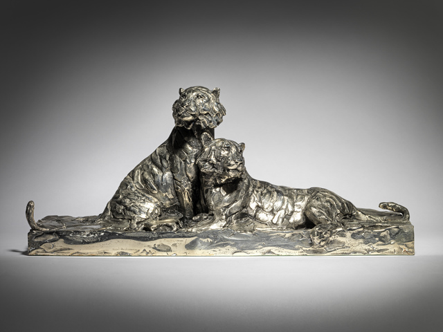 , '4. Amur Tigers, resting,' 2019, Sladmore Contemporary