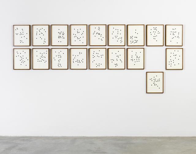 , 'Dices (dados),' 2014, Casey Kaplan