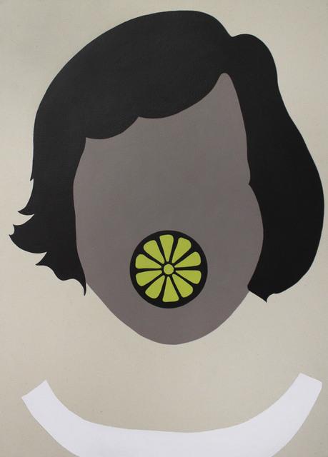 , 'Lemon Lip,' 2017, Galleri Urbane