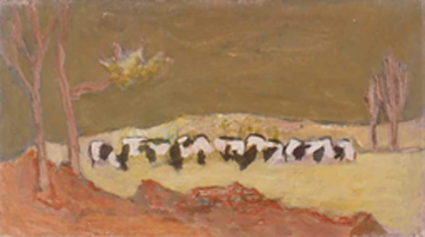 , 'Landscape with Cows,' 1947, Boundary Gallery