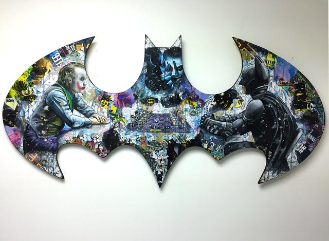 , 'Batman: Da Chessboxing Game,' 2018, Thompson Landry Gallery