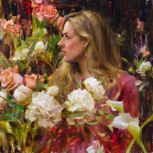 Daniel Keys, 'Jamie With Flowers', 2016, Gallery 1261