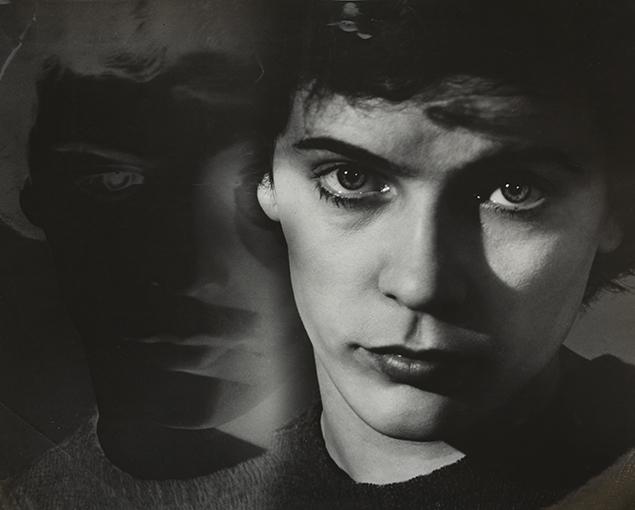 , 'Portrait Light-Dark,' Paris 1949, Johannes Faber