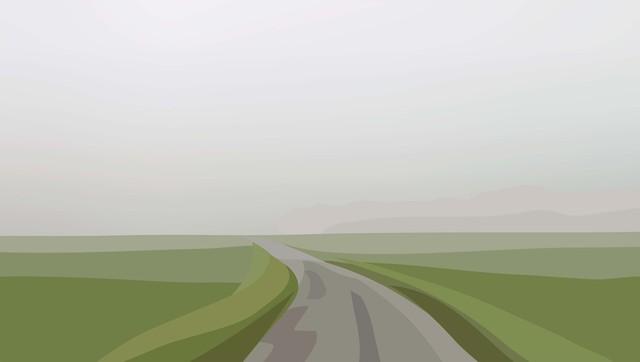Julian Opie, 'Winter 44.', 2012, Alan Cristea Gallery