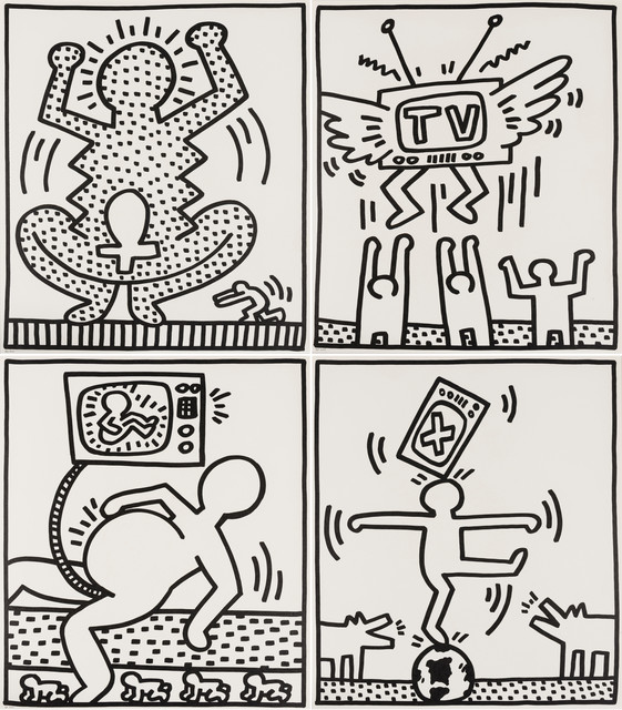 Keith Haring, 'Untitled from Lucio Amelio', 1983, Forum Auctions