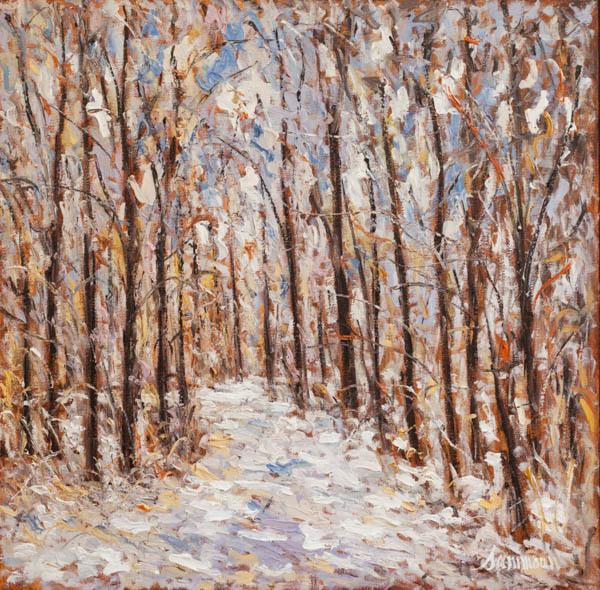 , 'Promenade, Neige,' 2018, Galerie d'Orsay