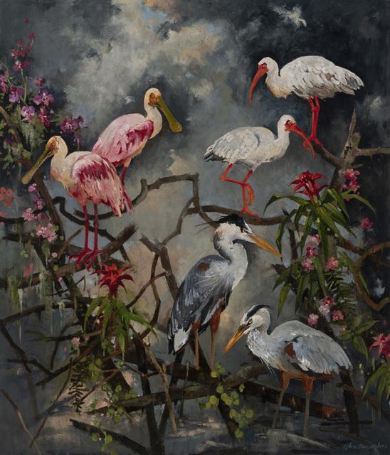 John Alexander, 'Paradise Unhinged', 2019, Tayloe Piggott Gallery