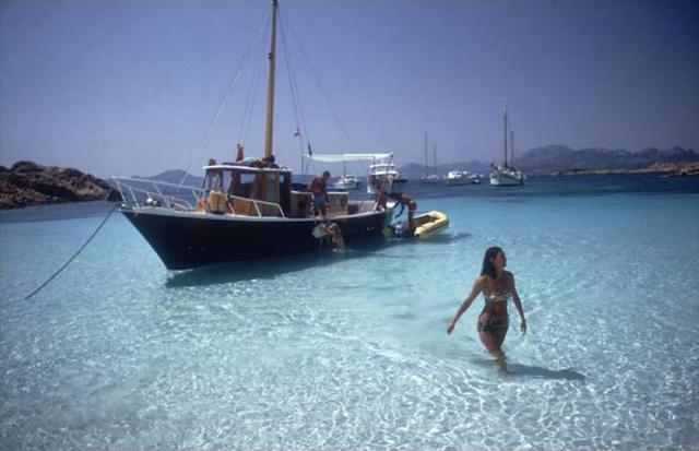 , 'Yachting Trip, Sardinia,' 1967, IFAC Arts