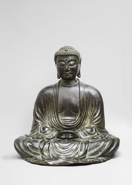 , 'Amida Buddha,' Kamakura period-1185–1333, Kimbell Art Museum