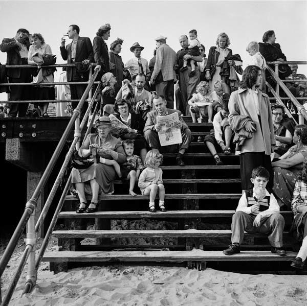 , 'Boardwalk Stairs,' 1950, Galerie Thierry Bigaignon