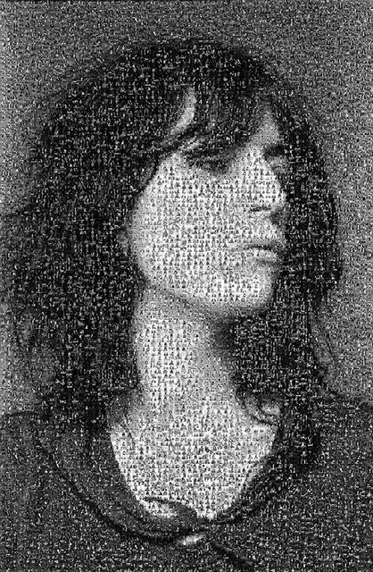Lynn Goldsmith, 'Patti Smith Mosaic', 1970-1980, Mouche Gallery