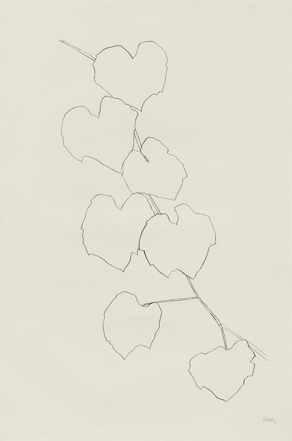 Ellsworth Kelly, 'Grape Leaves II', 1973, Susan Sheehan Gallery