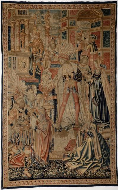 Unknown Artist, 'Tapestry (Lovers?)', ca. 16th Century, Davis Museum