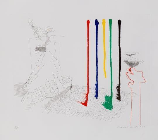 David Hockney, 'I Say They Are [Tokyo 193]', 1977, Roseberys