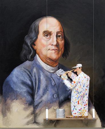 , 'Benjamin Franklin (Duplessis) ,' 2015, Zenith Gallery