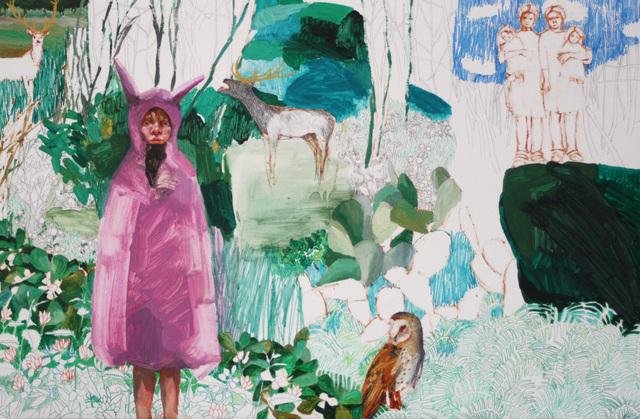 , 'Brave in Holland Park,' 2015, Yiri Arts