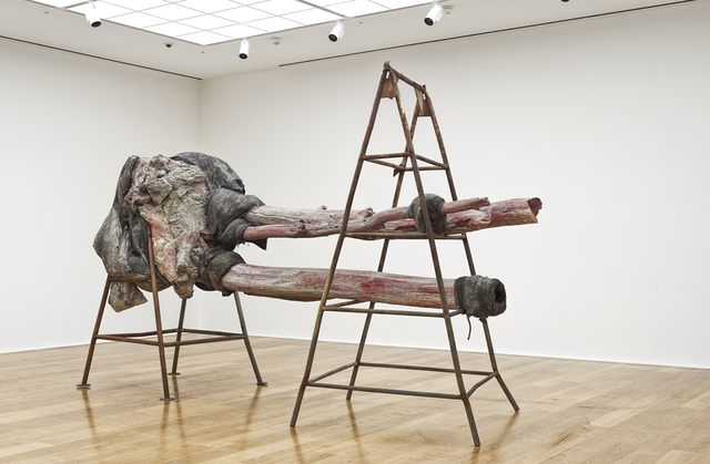 Berlinde De Bruyckere, 'After Cripplewood IV, 2014', 2014, Sculpture, Wax, iron, cloth, blankets, ropes, epoxy, Hauser & Wirth