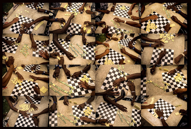 Isidora Gajic, ' Checkers and dominoes', 2016, Silvia Cintra + Box 4