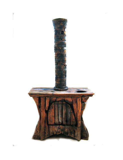 , 'Wood Stove,' 1991, Carter Burden Gallery