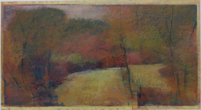 "Tamar Zinn, 'Tamar Zinn ""Untitled Landscape"" Oil Pastel, 1997', 1997, Joseph Grossman Fine Art Gallery"