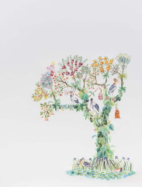 , 'What Grows on Trees,' 2018, Galerie Youn