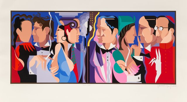 Giancarlo Impiglia, 'Talking Heads', 1989, Heritage Auctions