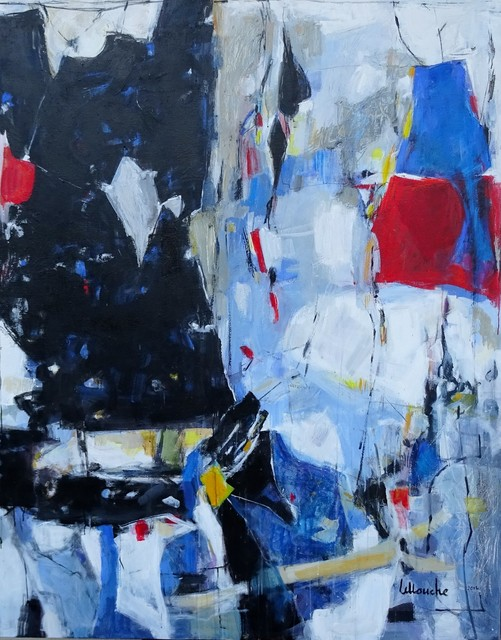 , 'ABSTRACT NOIR ET BLEU,' , Nolan-Rankin Galleries