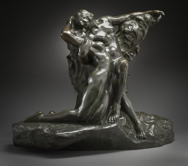 Auguste Rodin, 'Eternal Spring', ca. 1881, date of cast unknown, possibly before 1917, Los Angeles County Museum of Art