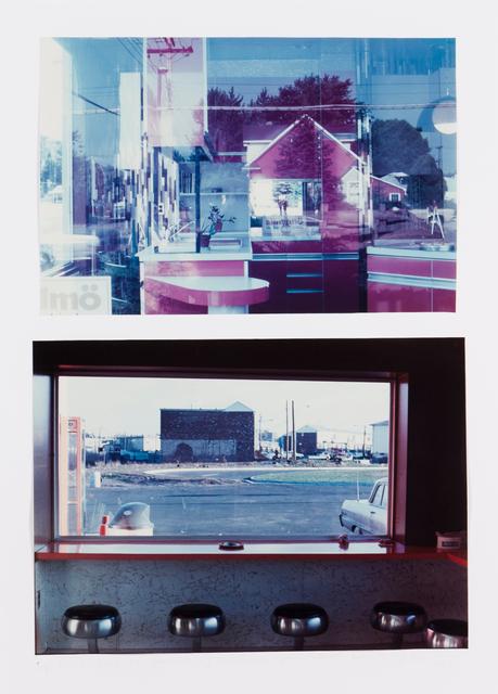 """Dan Graham, '""""""""Do-It-Yourself"""" Shop, Jersey City, NY, 1969"""" / """"Highway Restaurant, Jersey City, NY, 1967""""', Veritas"""
