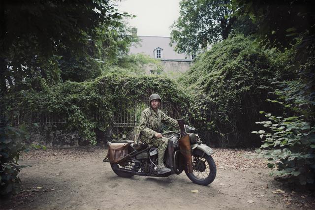 , 'Montsurs (France) – Harley-Davidson WLA 'Liberator', 1944. ,' , Victor Lope Arte Contemporaneo