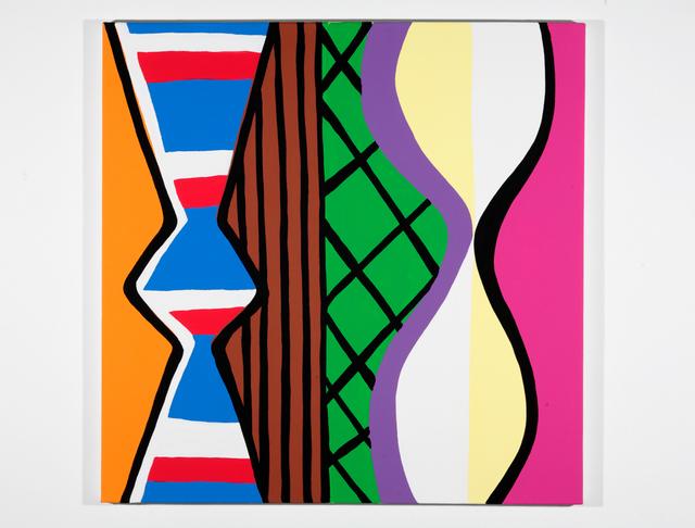 , 'Woman with Mirror. (Canvas #12),' 2007, Rosamund Felsen Gallery