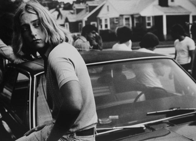 , 'Tom on his car, 1977,' 1977, Michael Hoppen Gallery