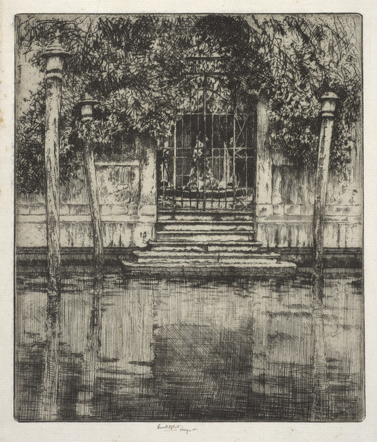 , 'The Gate, Venice,' 1906, de Young Museum