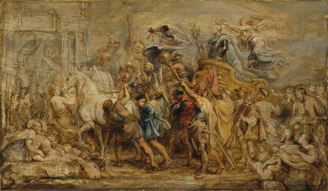 , 'The Triumph of Henri IV,' 1630, Royal Academy of Arts
