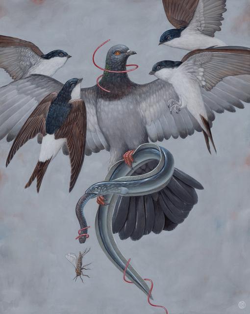 , 'The Flight,' 2018, Spoke Art