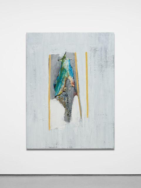 , 'Parrot (Orange Stripes),' 2018, Almine Rech