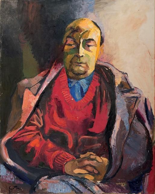 Renato Guttuso, 'Portrait of Pablo Neruda', 1968, Finarte
