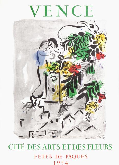 Marc Chagall, 'Vence: Cite des Arts et des Fleurs', 1954, RoGallery