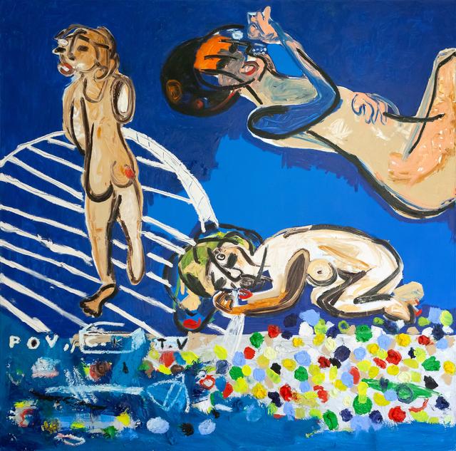 , 'P.O.V, C.K, T.V,' 2017, PUBLIC Gallery