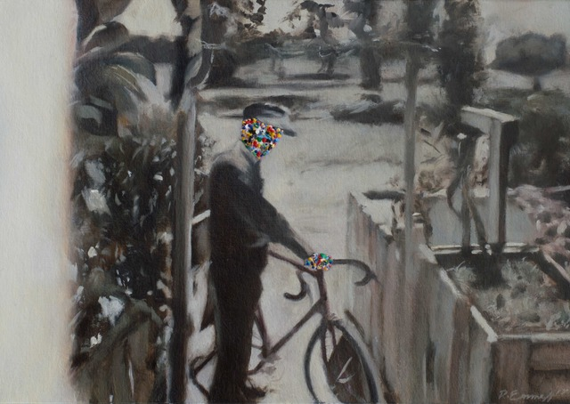 , 'The Cyclist,' 2017, The AVA Gallery