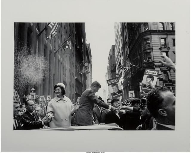 Cornell Capa, 'JFK and Jackie, New York', 1960, Heritage Auctions