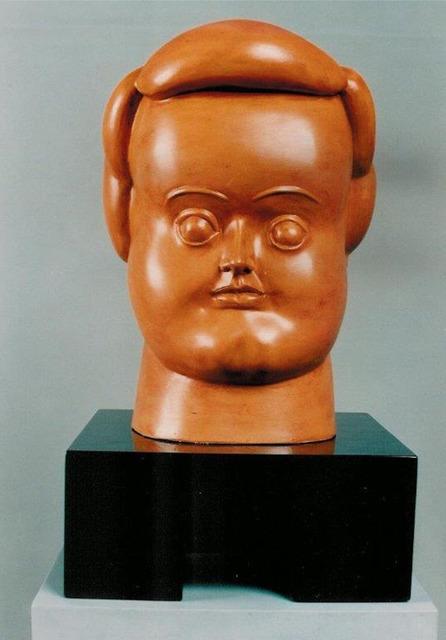 Fernando Botero, 'Woman's Head', 1987, Galería Duque Arango
