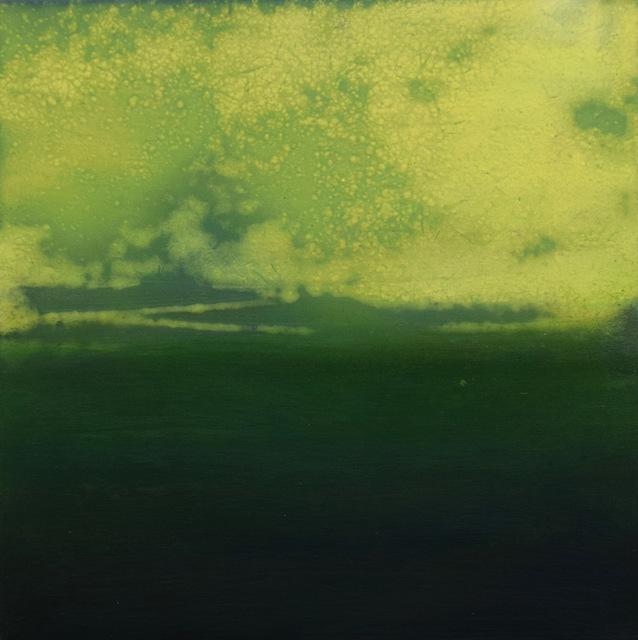 , 'Green field,' 2018, Hicks Gallery