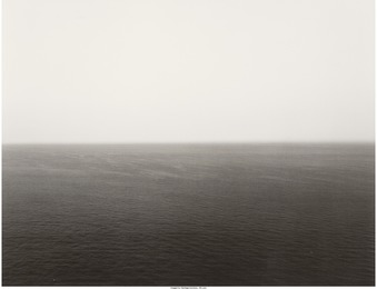 Hiroshi Sugimoto, 'Miltoan Sea, Sounion, from the portfolio Time Exposed,' 1990, Heritage Auctions: Valentine's Day Prints & Multiples