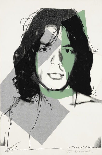 Andy Warhol, 'Mick Jagger (FS II.138)', 1975, Print, Screenprint on Arches Aquarelle (rough) Paper, Revolver Gallery