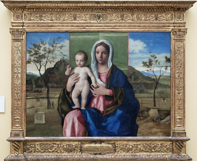 Giovanni Bellini, 'Madonna and Child', ca. 1468-1470, Pinacoteca di Brera