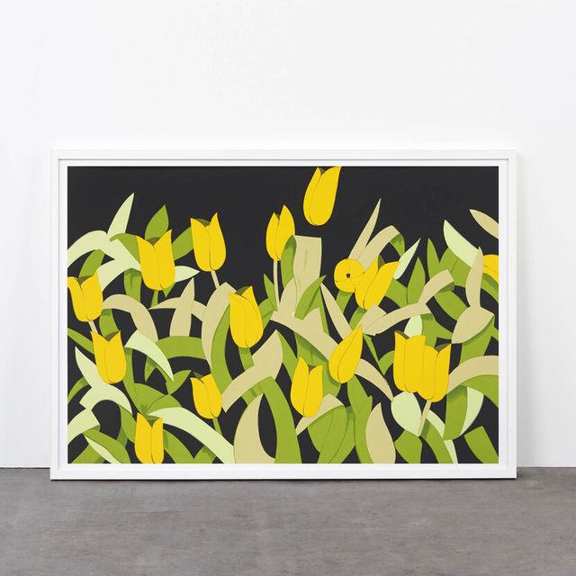 Alex Katz, 'Yellow tulips', 2014, Weng Contemporary
