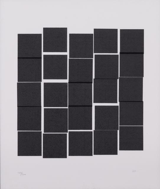 Vera Molnar, 'Carrés gris', Circa 1980, PIASA